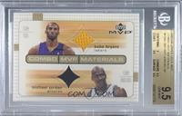 Kobe Bryant, Michael Jordan [BGS9.5GEMMINT]