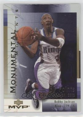 2003-04 Upper Deck MVP - Monumental Moments #MM5 - Bobby Jackson