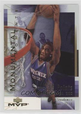 2003-04 Upper Deck MVP - Monumental Moments #MM7 - Amar'e Stoudemire