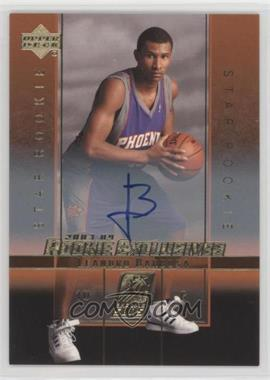 2003-04 Upper Deck Rookie Exclusives - [Base] - Autograph [Autographed] #A23 - Leandro Barbosa