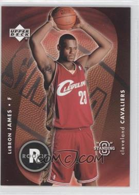 "2003-04 Upper Deck Standing ""O"" - [Base] #85 - Lebron James"