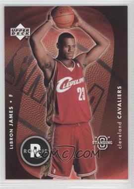"""2003-04 Upper Deck Standing """"O"""" - [Base] #85 - Lebron James"""
