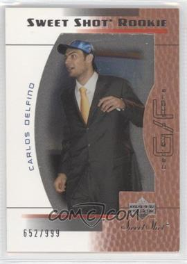 2003-04 Upper Deck Sweet Shot - [Base] #115 - Carlos Delfino /999
