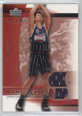 2003-04 Upper Deck Sweet Shot - Game Jersey #YM-J - Yao Ming