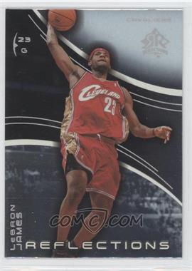 2003-04 Upper Deck Triple Dimensions - Reflections #10 - Lebron James