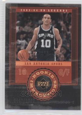 2003-04 Upper Deck UD Legends - [Base] #93 - Alex Garcia /1999