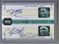 Tracy McGrady, Carmelo Anthony /25