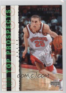 2003-04 Upper Deck UD Top Prospects - [Base] #51 - Steve Blake