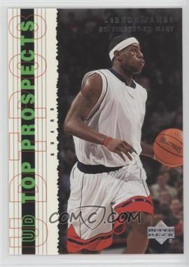 2003-04 Upper Deck UD Top Prospects - [Base] #55 - Lebron James