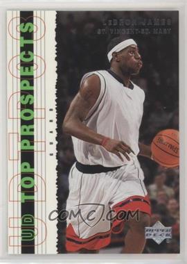 2003-04 Upper Deck UD Top Prospects - [Base] #55 - Lebron James - Courtesy of COMC.com