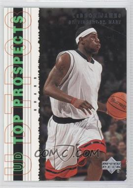 2003-04 Upper Deck UD Top Prospects - [Base] #55 - Lebron James