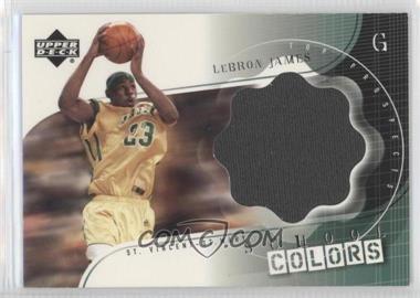 2003-04 Upper Deck UD Top Prospects - School Colors Jerseys #SC-LJ - Lebron James