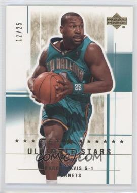 2003-04 Upper Deck Ultimate Collection - [Base] - Limited #182 - Baron Davis /25
