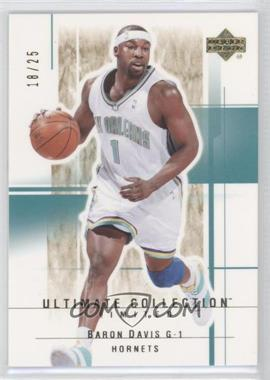 2003-04 Upper Deck Ultimate Collection - [Base] - Limited #71 - Baron Davis /25