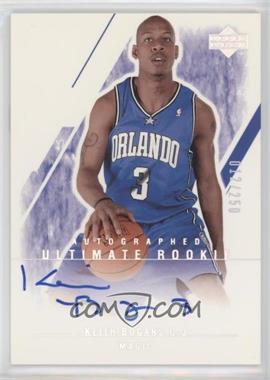 2003-04 Upper Deck Ultimate Collection - [Base] #161 - Keith Bogans /250
