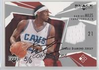 Darius Miles (2003-04 Black Diamond Jersey Single) /6