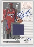Darius Miles (2002-03 SP Game Used) /21