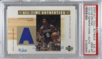 Julius Erving [PSA/DNA Certified Encased] #/22