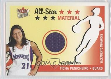 2003 Fleer Ultra WNBA - All-Star - Material #AS-TP - Ticha Penicheiro