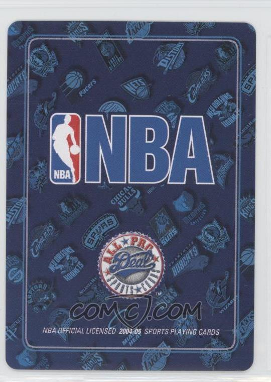 9b638a5a49b3 Report Error. 2004-05 All Pro Deal Playing Cards -  Base   5S - Shawn