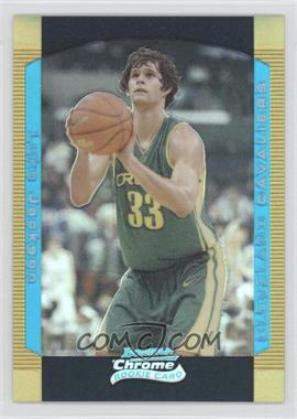 2004-05 Bowman Draft Picks & Prospects - Chrome - Gold Refractor #130 - Luke Jackson /50
