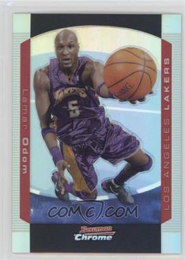 2004-05 Bowman Draft Picks & Prospects - Chrome - Refractor #77 - Lamar Odom /300