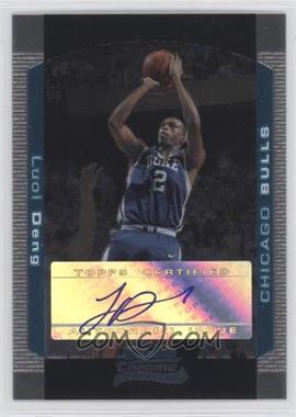 2004-05 Bowman Draft Picks & Prospects - Chrome #149 - Luol Deng /250