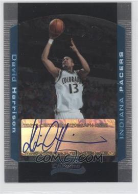 2004-05 Bowman Draft Picks & Prospects - Chrome #156 - David Harrison /250