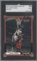 Lebron James /169 [SGC 96 MINT 9]