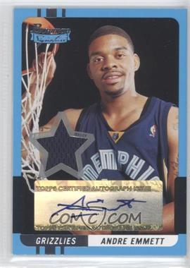 2004-05 Bowman Signature - [Base] #58 - Andre Emmett /399