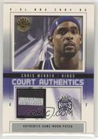Chris Webber [Good to VG‑EX] #/50