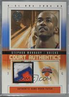 Stephon Marbury [Noted] #/70