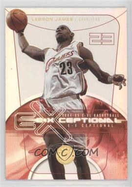 2004-05 E-XL - E-Xceptional - XL #2 EXQ - Lebron James