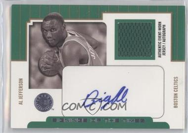 2004-05 E-XL - Signings Of The Times - Parallel 25 [Autographed] #ST/AJ - Al Jefferson /25
