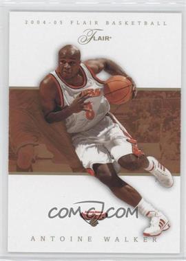 2004-05 Flair - [Base] #46 - Antoine Walker