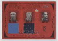 Carmelo Anthony, Kenyon Martin, Fat Lever, Alex English, Dan Issel /150