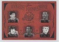 John Stockton, Karl Malone, Pete Maravich, Adrian Dantley, Andrei Kirilenko /500