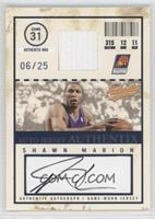 Shawn Marion #/25