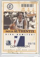 Dirk Nowitzki #/15