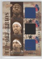 Ben Wallace, Rasheed Wallace, Richard Hamilton /25