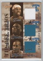 Baron Davis, Jamal Mashburn, Jamaal Magloire /25