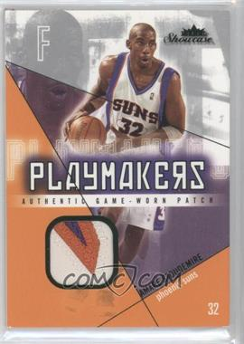 2004-05 Fleer Showcase - Playmakers Jersey - Green Patch #PM-AS - Amar'e Stoudemire /32