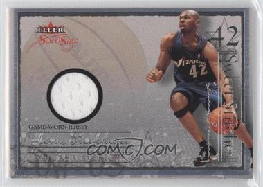 2004-05 Fleer Sweet Sigs - Sweet Stitches Jerseys #SST-JS - Jerry Stackhouse /114