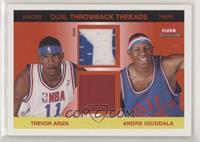 Trevor Ariza, Andre Iguodala [Noted] #/75