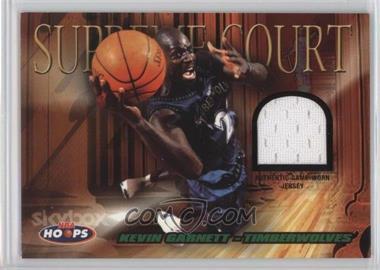2004-05 NBA Hoops - Supreme Court - Jerseys #SC/KG - Kevin Garnett