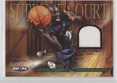 2004-05 NBA Hoops - Supreme Court - Jerseys #SC/KG - Kevin Garnett