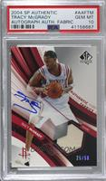 Tracy McGrady /50 [PSA 10 GEM MT]