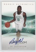 Rookie Authentics - Al Jefferson /100