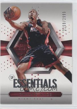 2004-05 SP Authentic - [Base] #110 - Essentials - Dwyane Wade /2999