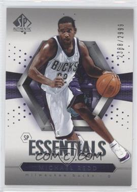 2004-05 SP Authentic - [Base] #112 - Essentials - Michael Redd /2999